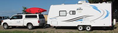 The EatStayPlay.com camping rig.
