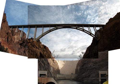 Hoover Dam and New Bridge