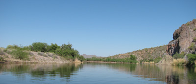 Scenery on Lower Salt River