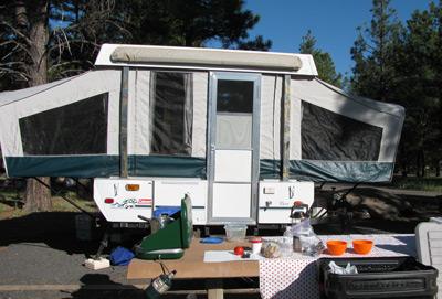 Coleman Taos Tent Trailer aka Skippy